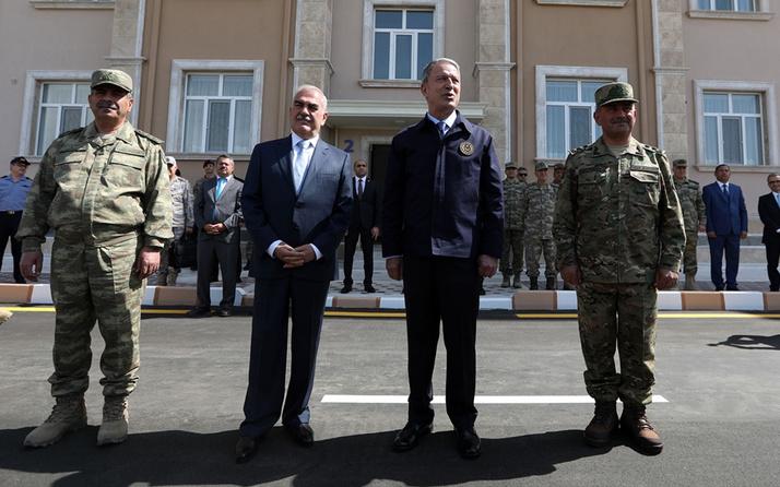 Hulusi Akar Nahçıvan'da Ermenistan'a mesaj verdi