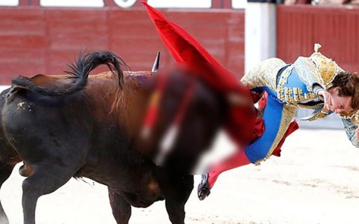 İspanya'da matador canından oluyordu!