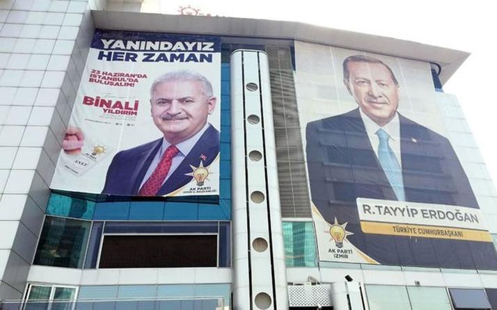 AK Parti'den Yıldırım için 81 ile afiş pankart talimatı