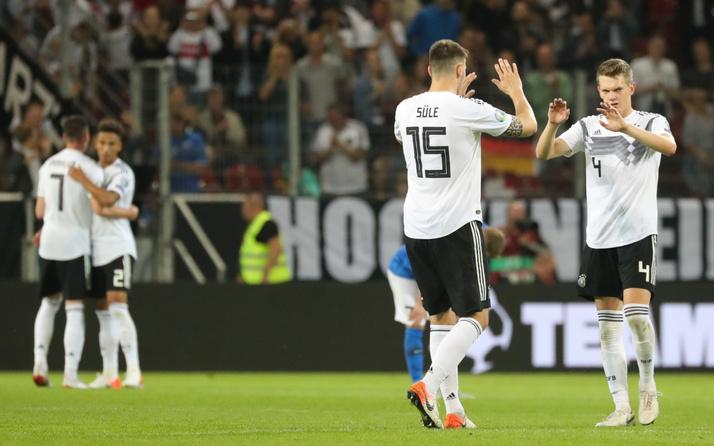Almanya gol oldu yağdı! İşte toplu sonuçlar