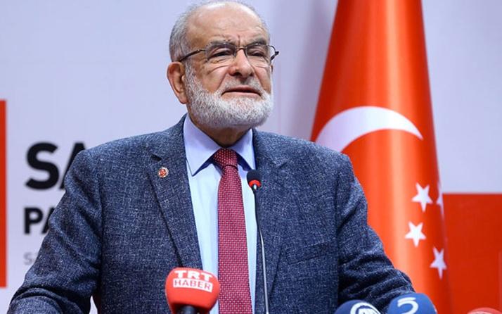Saadet lideri Temel Karamollaoğlu'ndan AK Parti bombardımanı
