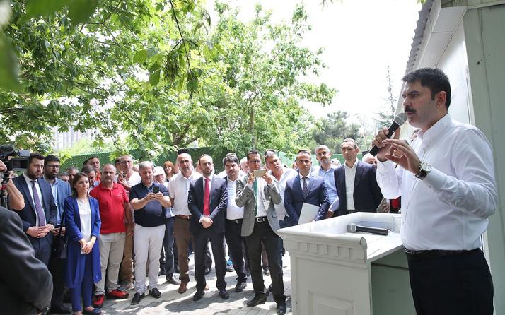 Kentsel dönüşümde 3 temel kriter Murat Kurum açıkladı