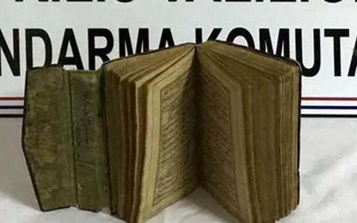 Kilis'te ele geçirildi! 15'inci yüzyıla ait el yazması... Değeri tam 100 bin dolar