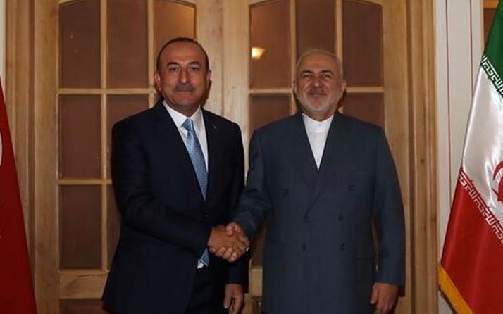 Bakan Mevlüt Çavuşoğlu'dan Cevad Zarif'e ziyaret