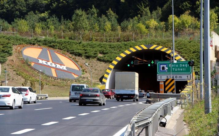 Kaynaşlı ile Bolu Tüneli arası 20 gün süreyle ulaşıma kapatıldı