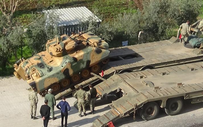 Sınır birliklerine dikkat çeken tank sevkiyatı