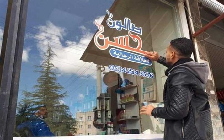 Suriyeli esnafların Arapça tabelalarıyla ilgili yeni karar