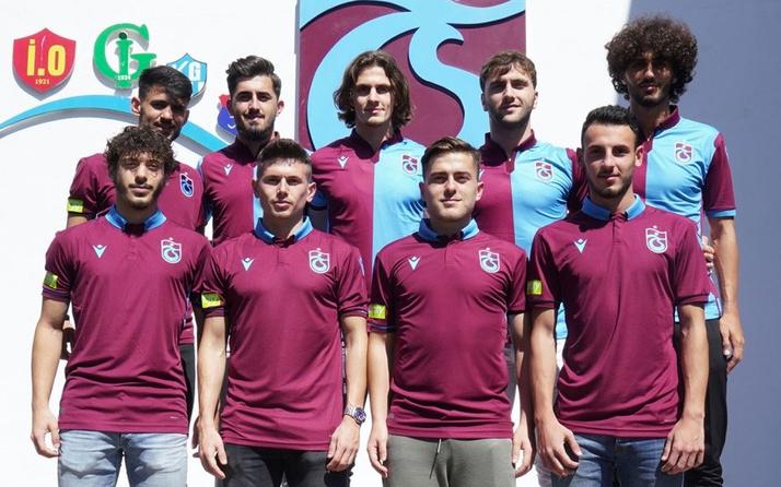Trabzonspor 9 futbolcuyla sözleşme imzaladı