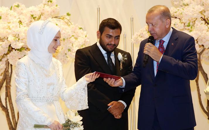 Cumhurbaşkanı Erdoğan Ali Erbaş'ın kızının nikah şahitliğini yaptı
