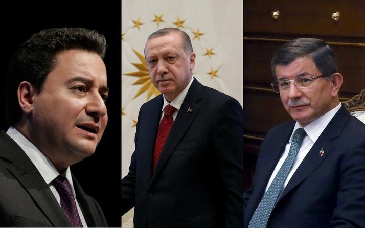 Cumhurbaşkanı Erdoğan'dan Ali Babacan ve Ahmet Davutoğlu'na sert sözler