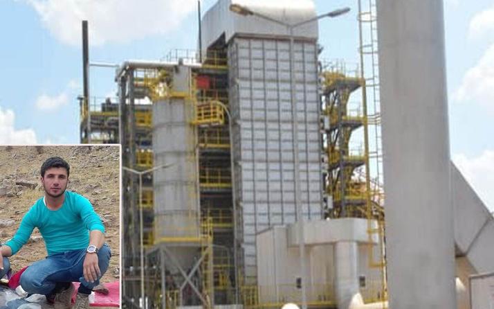Mardin'de biyokütle enerji santralinde harman makinesine kapıldı!