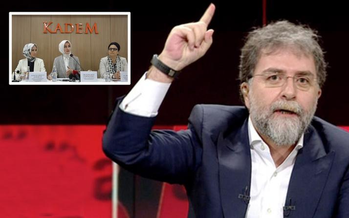 KADEM olayında Ahmet Hakan 'benim safım belli' dedi nedenlerini açıkladı