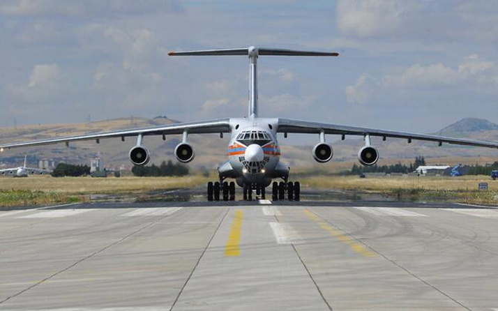 S-400 füze savunma sistemi! 11'inci uçak Mürted Üssü'ne indi