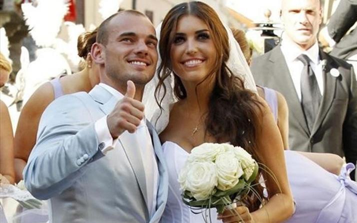 Sneijder eski eşine servet ödeyecek