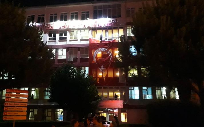 İntihar etmek isterken Türk bayrağına basınca olanlar oldu