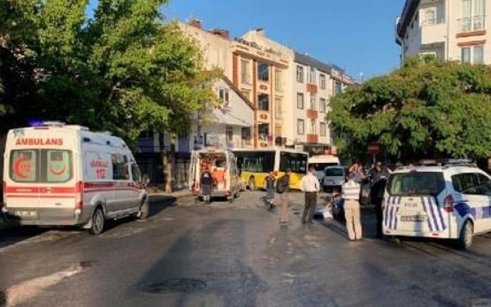 Sancaktepe'de halk otobüsü dükkana girdi! Ölü ve yaralılar var