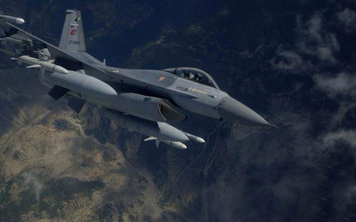 Pençe Harekatı'nda Kuzey Irak'ın Zap bölgesindeki terör hedefleri bombalandı
