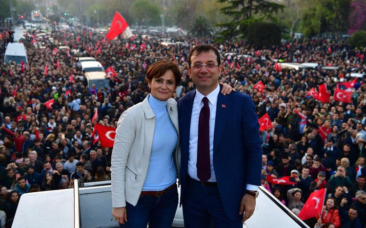 Ekrem İmamoğlu'ndan Canan Kaftancıoğlu paylaşımı