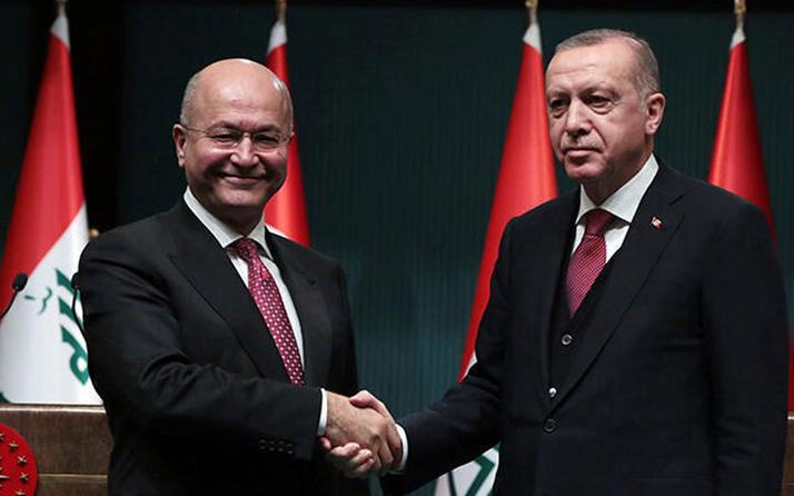 Irak Cumhurbaşkanı, Erdoğan'ı aradı