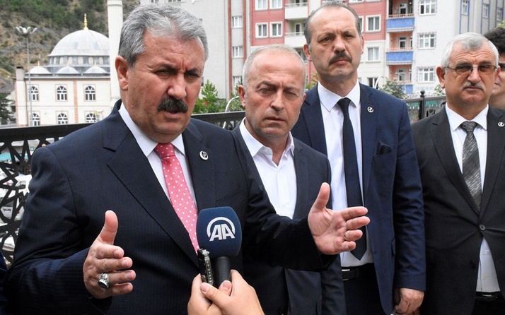 Mustafa Destici'den Erbil saldırısıyla ilgili HDP'li vekiller için çağrı