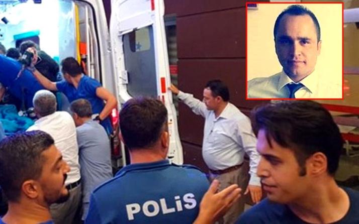 Adıyaman'da ekip otosuna silahlı saldırı! Polis memurundan acı haber