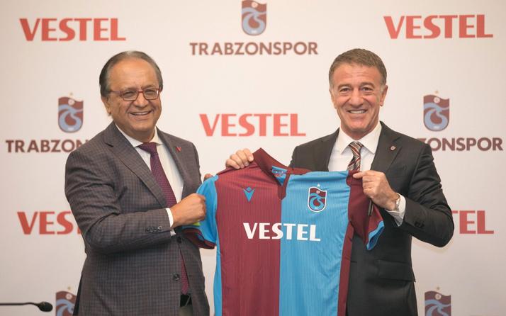Trabzonspor'un yeni sponsoru Vestel