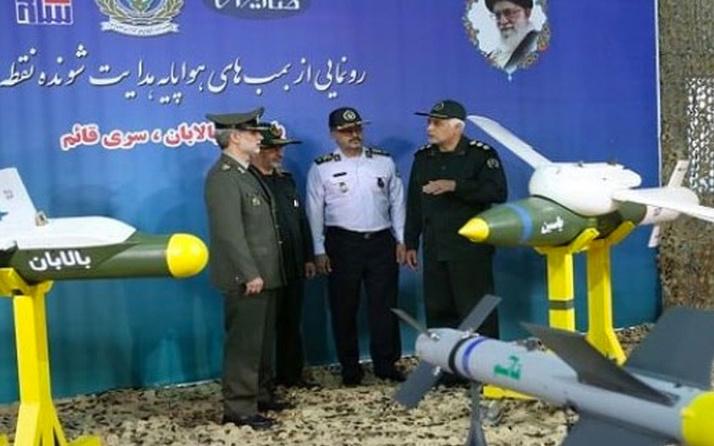 ABD'ye gözdağı! İran yeni 'güdümlü bombalarını' tanıttı