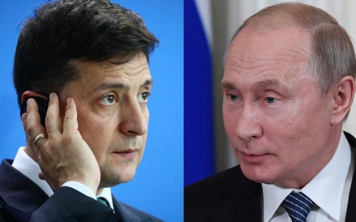 Zelenskiy Rusya lideri ile Ukrayna'nın doğusundaki krizi görüştü!