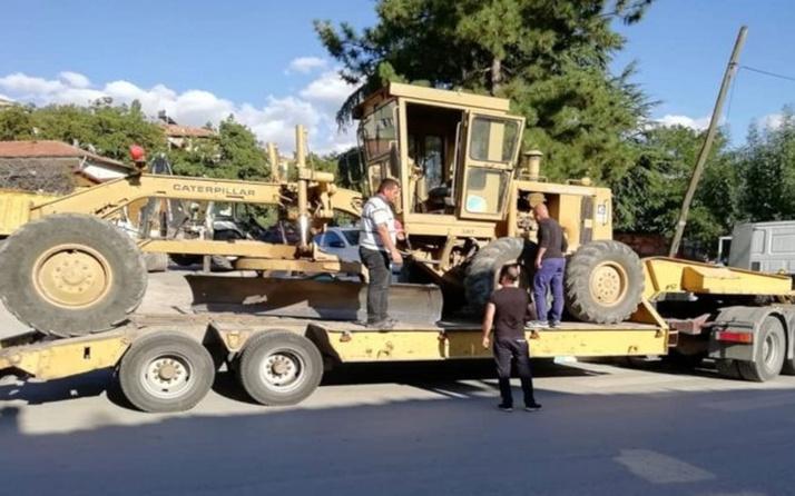 CHP'li Sarıyer Belediyesi kaybedince iş makinesini geri aldı