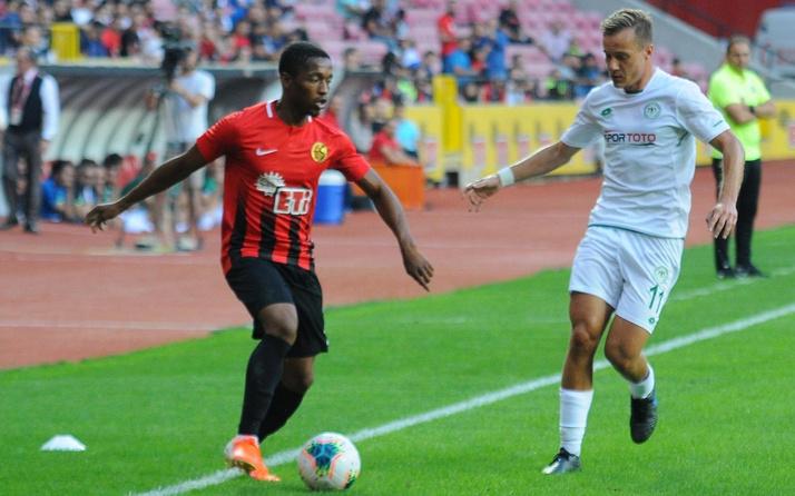 Eskişehirspor ile Konyaspor berabere kaldı