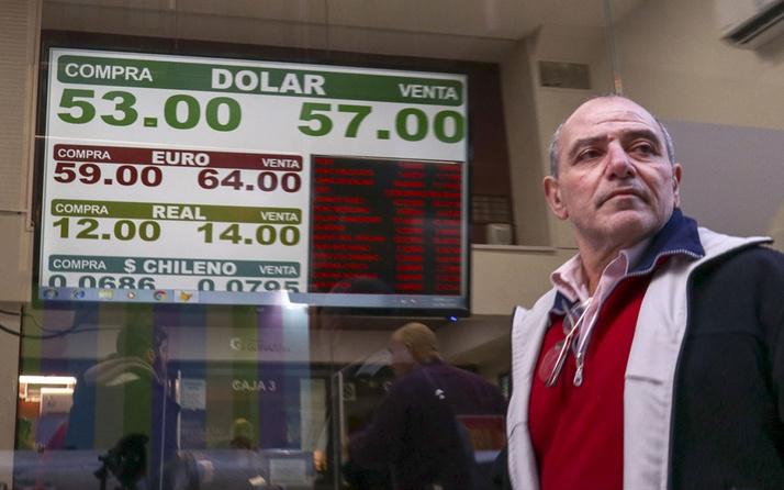 Arjantin'de dolar yüzde 30 değer kazandı