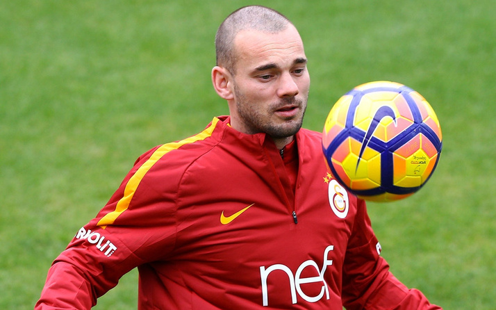 Galatasaray'dan Wesley Sneijder'e teşekkür mesajı