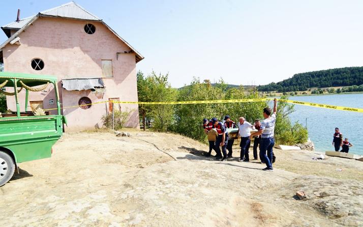 Kastamonu'da baraj göletinde facia! Anne, baba ve çocuk öldü