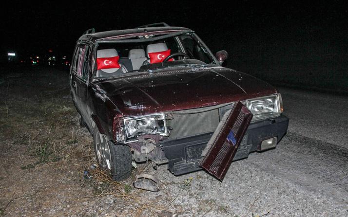 Kütahya'da otomobil yayalara çarptı: 1 ölü, 3 yaralı