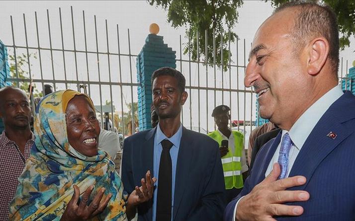 Sudan sokaklarından Türkiye'ye hayır duası