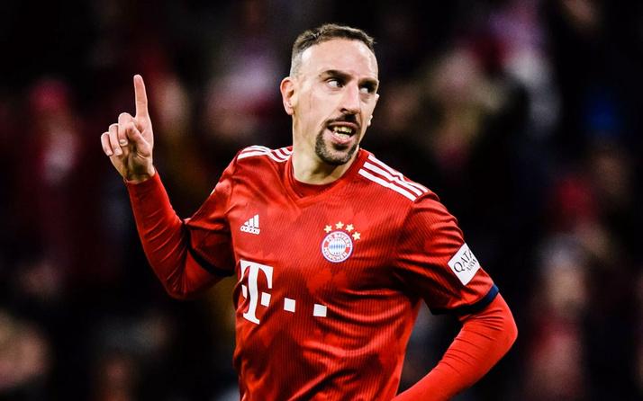 Bayern Münih efsanesi Frank Ribery'nin yeni takımı belli oldu