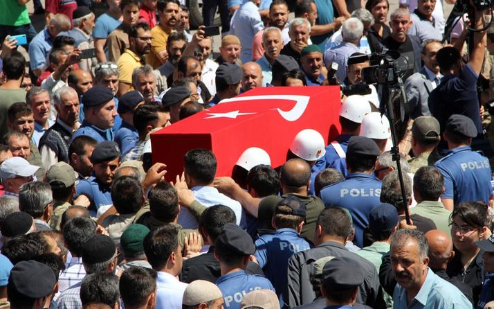 Şehit Uzman Çavuş Erzurum'da son yolculuğuna uğurlandı