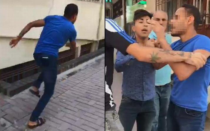 Şanlıurfa'da kız çocuğunu taciz ettiği iddia edilen şahsı polise teslim ettiler