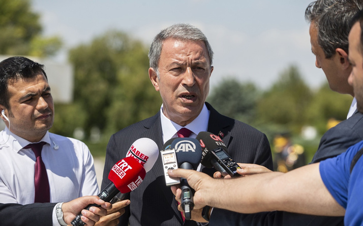 Milli Savunma Bakanı Hulusi Akar'dan güvenli bölge açıklaması!