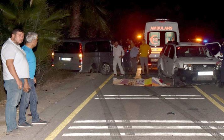 Muğla'da trafik kazası Aynı aileden 3 ölü
