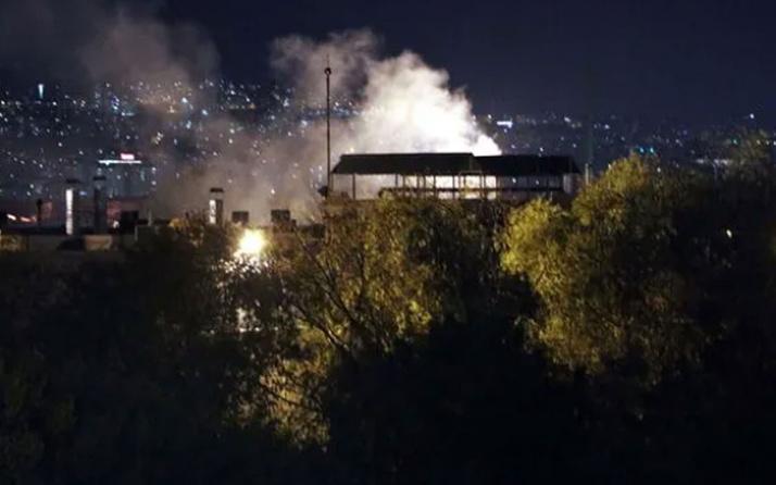 Ankara'da traktör fabrikasında panik yaratan yangın!