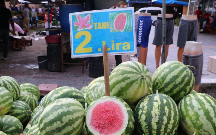 Adana karpuzu 20 kuruşa domates fiyatı 50 kuruşa indi