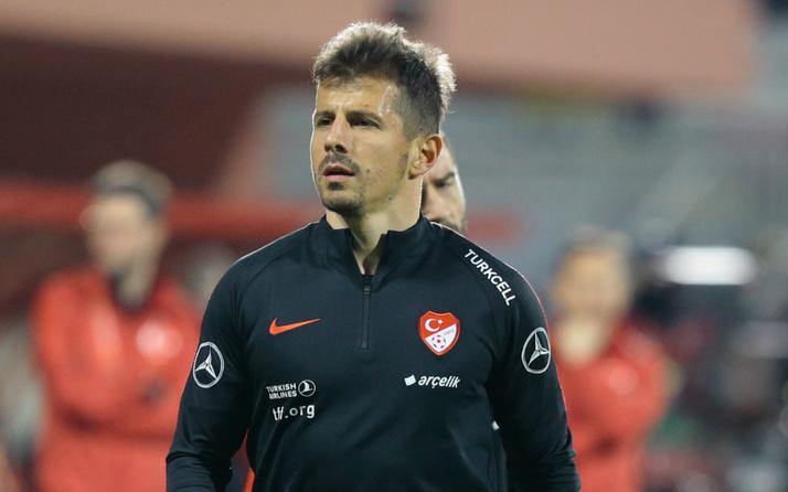 Emre Belözoğlu milli formayla 100. maçına çıktı