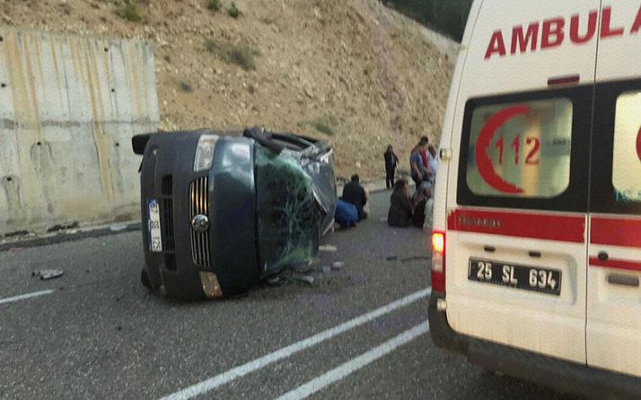 Erzurum'da bir kişi kızının düğününe giderken kazada öldü