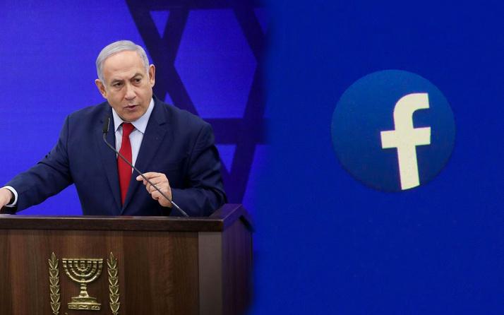 Facebook'tan İsrail Başbakanı Netanyahu'ya darbe