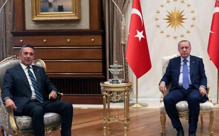 Fenerbahçe Başkanı Ali Koç Cumhurbaşkanı Erdoğan'ı ziyaret etti