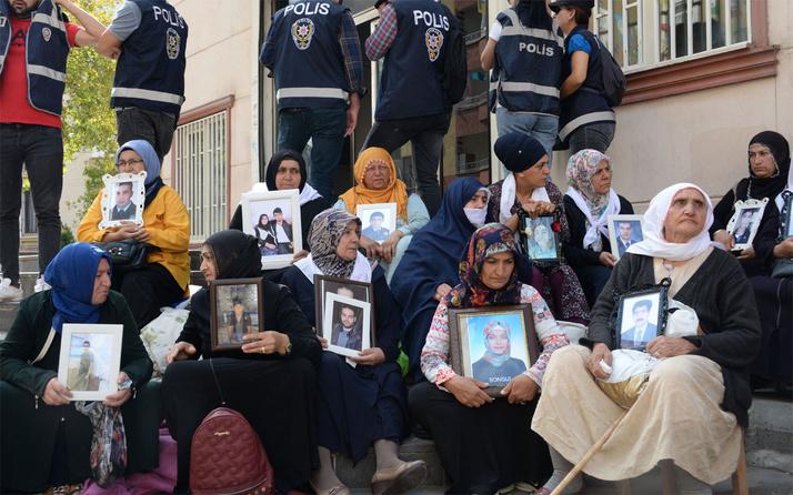 HDP önündeki eylemde aile sayısı 33 oldu