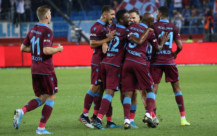 Trabzonspor grupta siftah peşinde