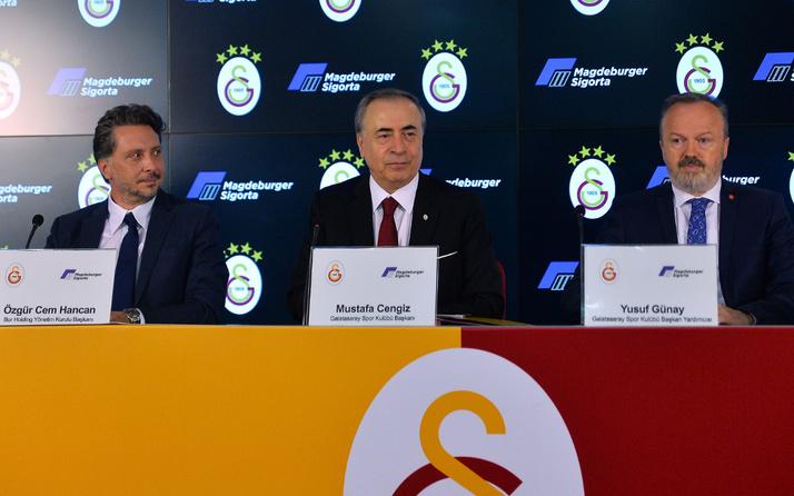 Galatasaray Futbol Takımı'nın forma kol sponsoru Magdeburger Sigorta oldu