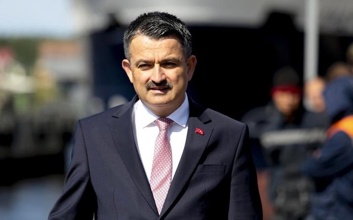 Bakan Bekir Pakdemirli'den yılbaşı uyarısı! 10 yıl hapis cezası var